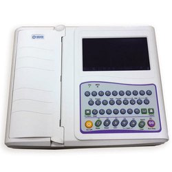 ECG MACHINE NIDEK, Portable, Number Of Channels: 12 Channels