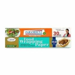 Claret Jodi Pack 9 2 Mtr Food Wrapping Butter Paper With Paramount Pvc Cling Film 30 Mtr