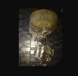Antique Art Craft Wall Lamp