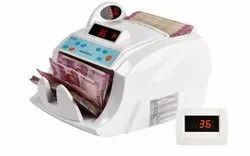 Maxsell Intelligent Currency Counter Cum Detector, Hopper Capacity: 200 Notes, Stacker Capacity: 150 Notes