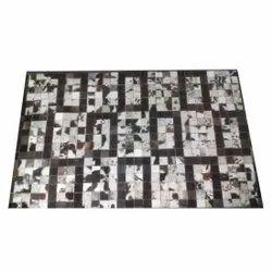 For Floor Designer Printed Leather Carpet
