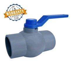 Jepal  Solid Ball Valve Long Handle MS Plate Gray