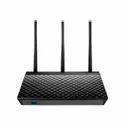 Black Pc Asus Rt-ac66u B1 Ac1750 Dual Band Gaming Router