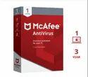 Mcafee Antivirus 1 Pc 3 Year, For Windows