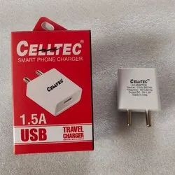 CELLTEC Travel 1.5 Amp Single Port USB Charger