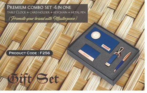 Corporate Premium Executive Combo Gift Sets Of Notebook, Pen, Keychain, Business Card Holders