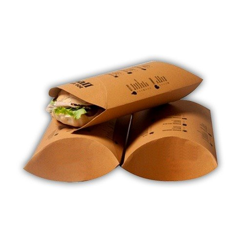 Printed Kathi Roll Packaging Box