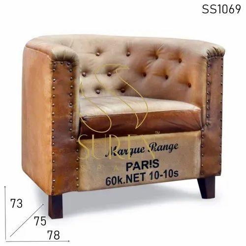 Resort Hospitality Bedroom Accent Armchair