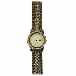 Round Ladies Wedding Quartz Wrist Watch