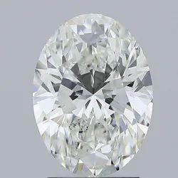 Oval Cut 2.02ct IGI Certified Diamond CVD F VS2 Lab Grown Type2A