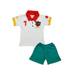 Baby Boys Half Sleeve Top Pant DGN 534