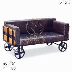 Bench in Wheel Sofa