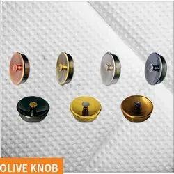 Olive Brass Drawer Knob