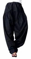 Women's Regular Wear Cotton Plain Patiala