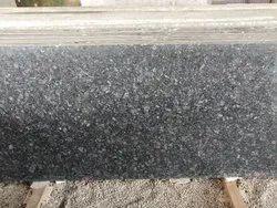 Black Polished Kotda Granite Slab, For Flooring and Countertops, Thickness: 16 mm
