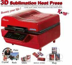 3D Vacuum Heat Press Sublimation Machine