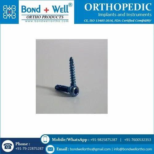 Orthopedic Self Tapping Cortex Screw