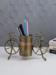 Metal Cycle Pen Stand