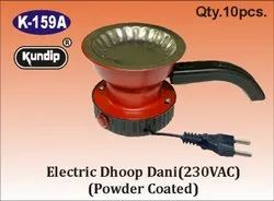 Electric Dhoop Dani (230VAC) - Powder Coated