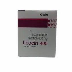 Ticocin 400 Inj