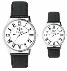 Men Round Formal Wrist Watch