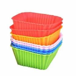 Plastic Silicone Cake Moulds