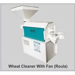 Wheat Cleaner With Fan
