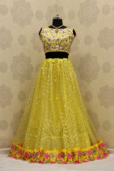 Yellow Lehenga Choli for haldi