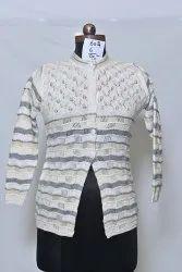602 Woolen Round Neck Cardigan