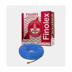 6 Sq Mm Finolex Flame Retardant PVC Insulated Blue Cable