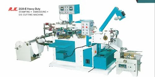 Stamping And Embossing With Die Cutting Machine