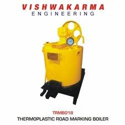 Thermoplastic Paint Preheater Boiler