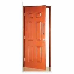Pearl Orange GI Shakti Hormann Metal Embossed Residential Door