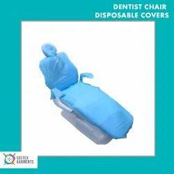 Non Woven Blue Seetex Garments Disposable Dentist Chair Covers, For Dental Clinic, 35 Gsm