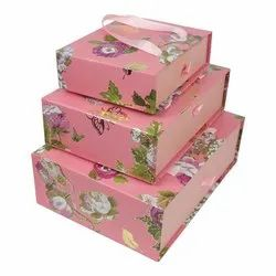 Printed Multicolor Cardboard Gift Boxes Printing Service, Material Thickness: 0-3 mm, Box Capacity: 1-5 Kg