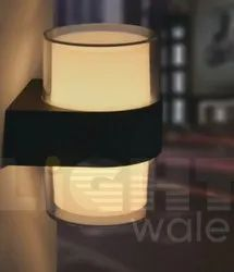 Up Down Diffused Outdoor Wall Light (5w x 2)