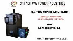 ABM Hostel Sanitary Napkin Destroyer Machine