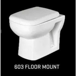 Cornea Open Front 603 Floor Mount Water Closet, For Bathroom Fitting, Size/Dimension: 550x360x390 Mm