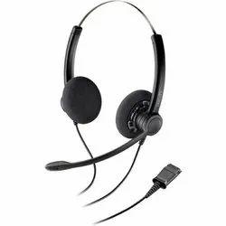 Black Over The Head Plantronics Practica SP11/12 Monaural & Binaural QD Wired headset