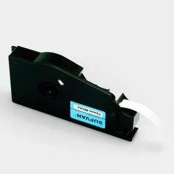 Supvan 12mm White Cassettes Label Tape