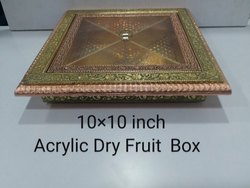 10x10 Inch Acrylic Dry Fruit Box