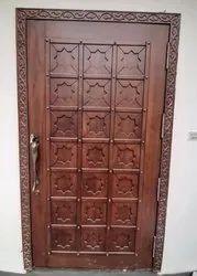 Brown Wooden designing Door