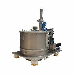 Manual Bottom Discharge Centrifuge Machine