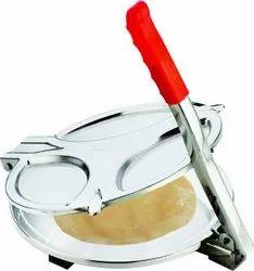Kitchenware Manual Stainless Steel Puri Press Machine (6 inch)