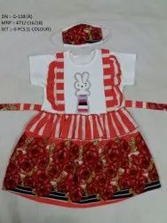 NEW FLOWER PRINTED LONG FROCK FOR GIRLS