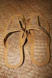 Slipers Brown Cane slippers, Size: 5-10
