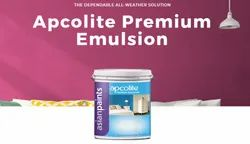 Water Based Paint High Gloss Asian Paints Apcolite Premium Emulsion, For Interior Walls, Packaging Type: Bucket