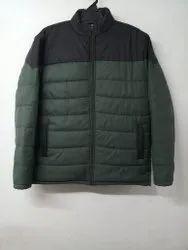 Round Blue Mens Designer Polyester Jacket, Size: L to XXL