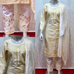 Ladies Designer Printed Cotton Kurti