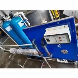 Ultra Filtration Carbon Steel Industrial RO Water Purifier Plant, Water Storage Capacity: 2000 L